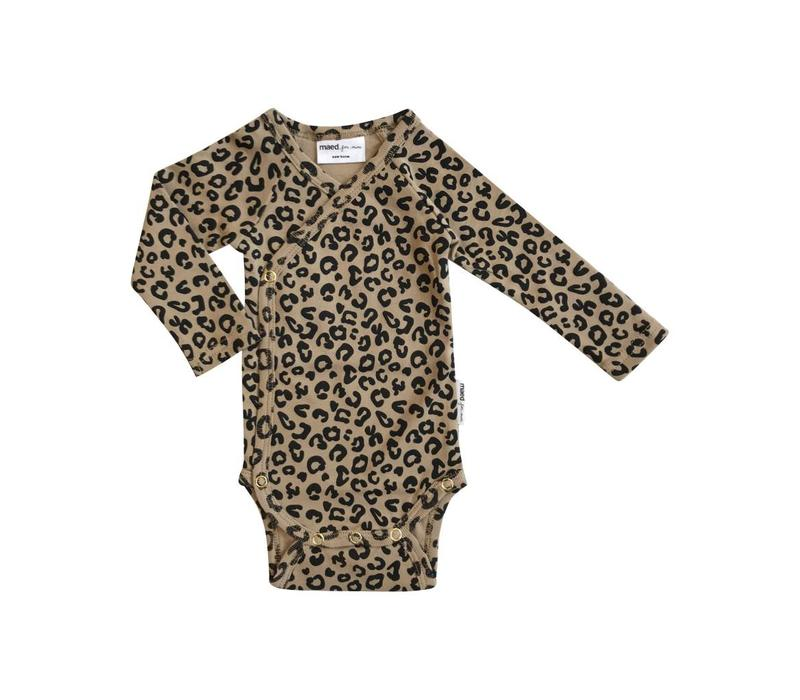Maed for mini Body brown leopard aop