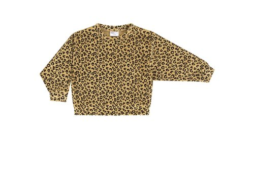 Maed for mini Maed for mini sweater leopard yellow