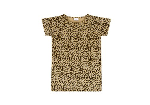 Maed for mini Maed for mini dress yellow leopard