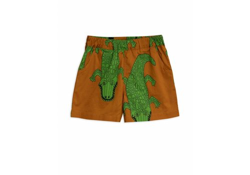 Mini Rodini Mini Rodini shorts crocco brown