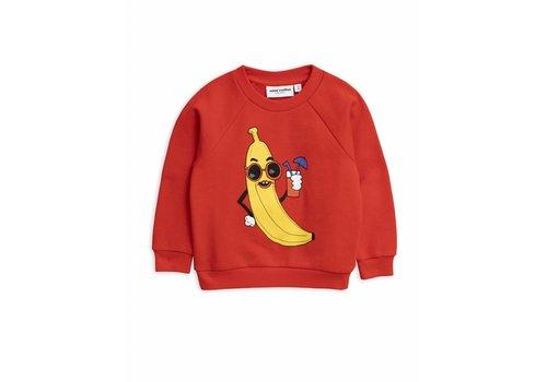 Mini Rodini Mini Rodini sweatshirt banana red