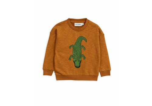 Mini Rodini Mini Rodini sweatshirt crocco brown