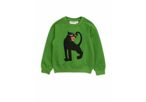 Mini Rodini Mini Rodini sweatshirt panther green