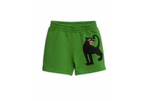 Mini Rodini Mini Rodini sweatshorts panther green