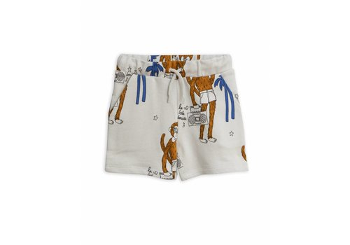 Mini Rodini Mini Rodini sweatshorts cool monkey grey