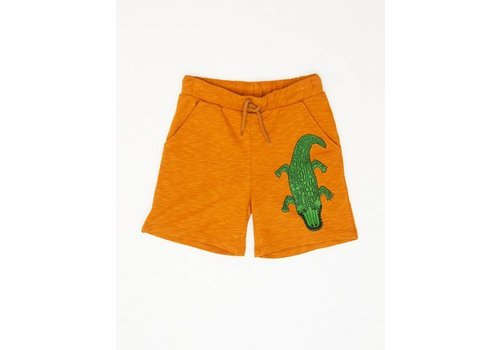 Mini Rodini Mini Rodini sweatshorts crocco brown