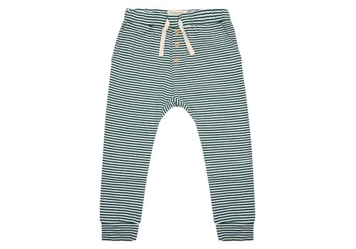 Little Indians Little indians pants forest stripe