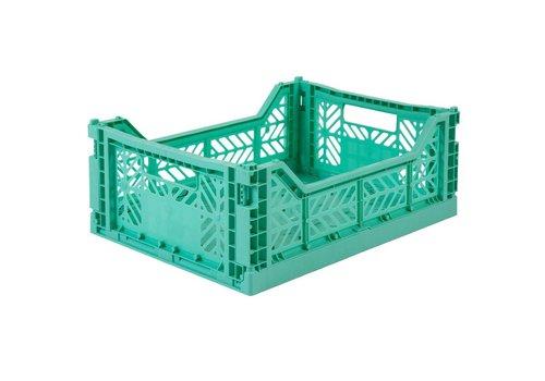 Ay-Kasa folding crate mint