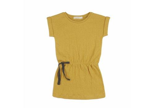 Phil & Phae Phil & Phae jurk crinkle yellow