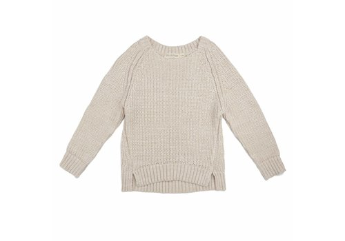 Phil & Phae Phil & Phae knit sweater chunky stone