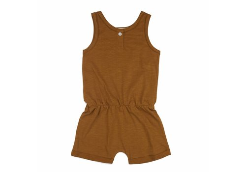 Phil & Phae Phil & Phae playsuit gold chamomile