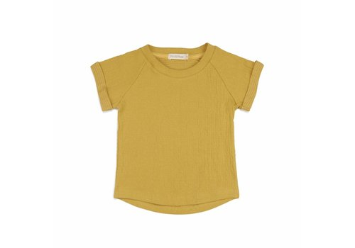 Phil & Phae Phil & Phae t-shirt crinkle yellow