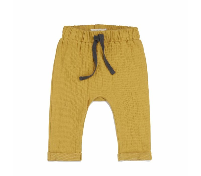 Phil & Phae baby pants crinkle yellow