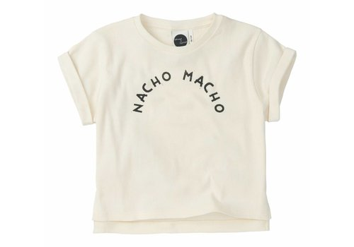 Sproet & Sprout Sproet & Sprout t-shirt nacho macho white