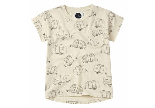 Sproet & Sprout Sproet & Sprout t-shirt caravan aop shell