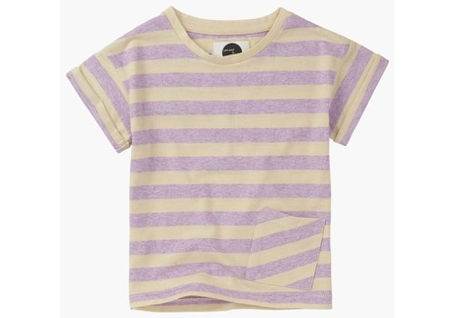 Sproet & Sprout Sproet & Sprout t-shirt stripe violet