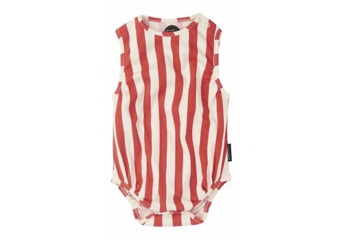 Sproet & Sprout Sproet & Sprout romper red stripe