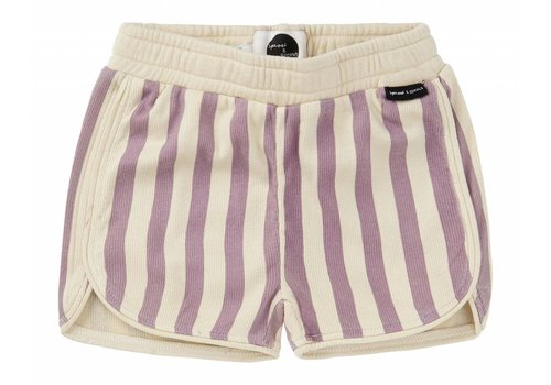 Sproet & Sprout Sproet & Sprout sport shorts violet stripe
