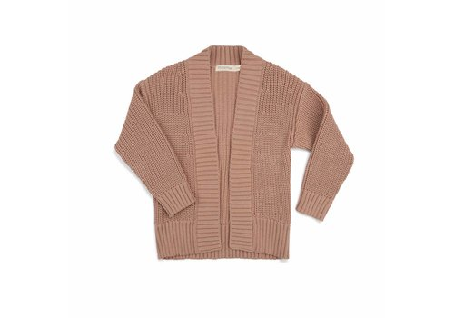 Phil & Phae Phil & Phae knit cardigan dusty nude