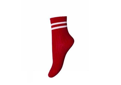 MP Denmark MP denmark glitter sok rood - wit