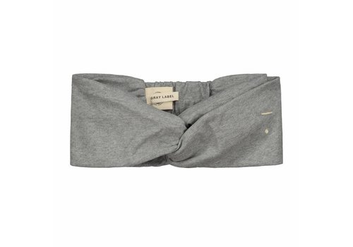 Gray label Gray Label twist haarband grey 4-10