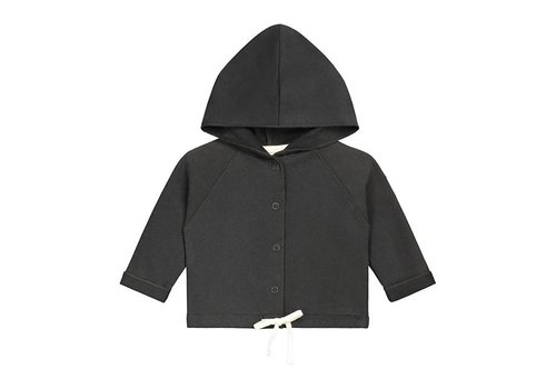 Gray label vestje capuchon zwart