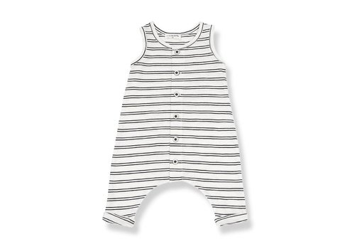 1 + in the family 1 + in the family piet onesie off-white / black
