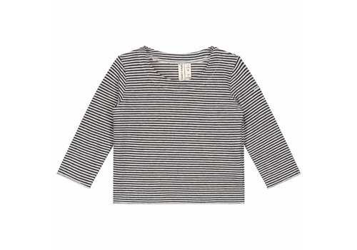 Gray label Gray label baby longsleeve stripe black-cream