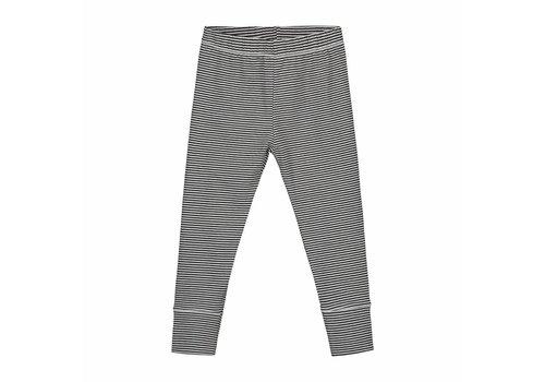 Gray label legging stripe black - cream