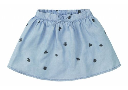 Sproet & Sprout Sproet & Sprout skirt denim playing carts