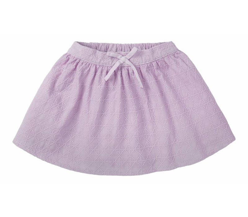 Sproet & Sprout skirt violet embroidery