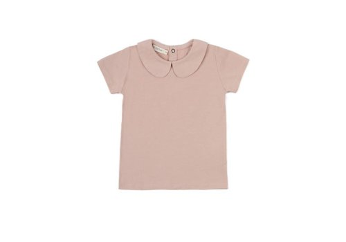 Phil & Phae Phil & Phae t-shirt collar blush