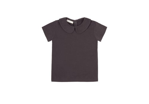 Phil & Phae Phil & Phae t-shirt collar graphite