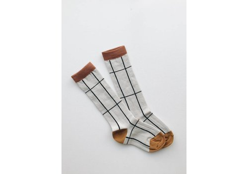 Monkind Monkind kneesocks grid
