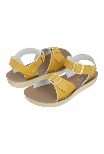 Salt water sandals surfer mustard