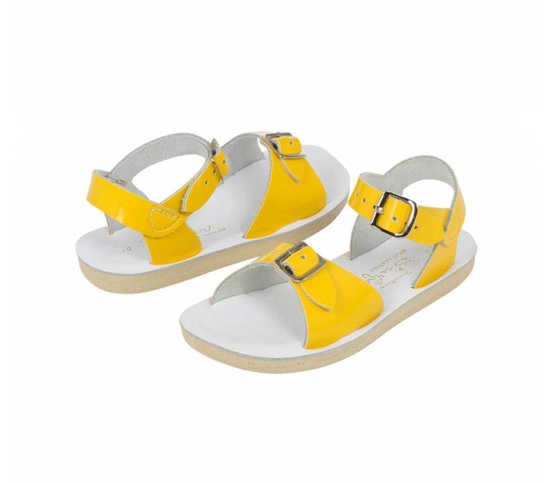 Salt water sandals surfer yellow