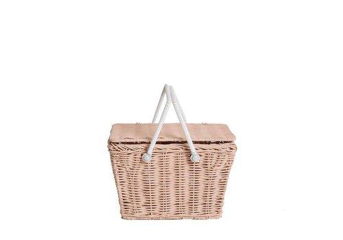 Olli Ella Olli Ella piki picnic basket rose