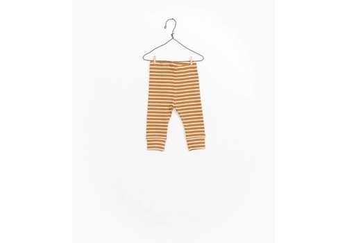 Play Up Play up legging rib stripe mustard