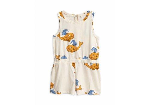Mini Rodini Mini Rodini summersuit orange