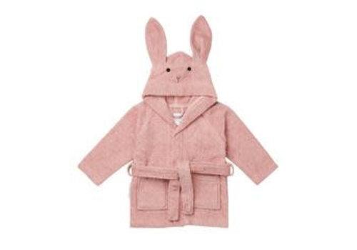 Liewood badjas konijn rose