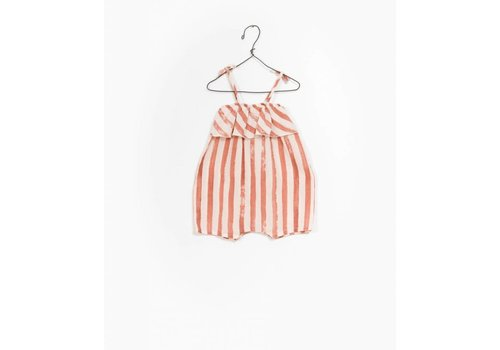 Play Up Play up jumpsuit stripe rust