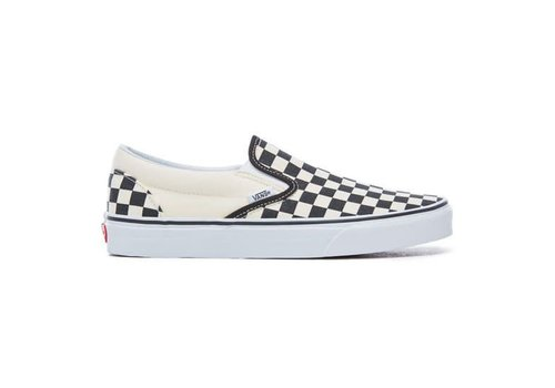 Vans Vans classic slip on black white