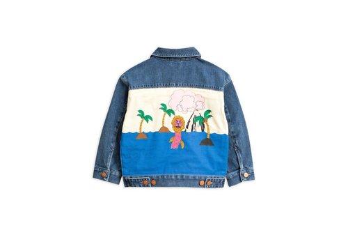 Mini Rodini Mini Rodini seahorse denim jacket