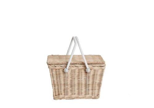 Olli Ella Olli Ella piki picnic basket straw