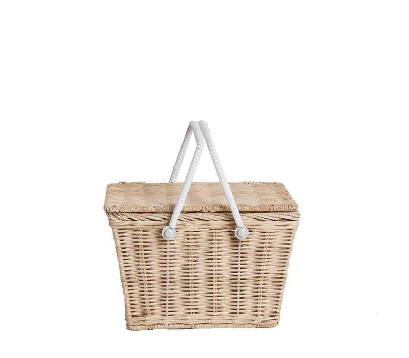 Olli Ella piki picnic basket straw