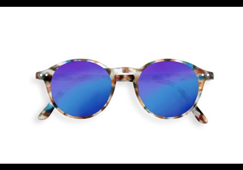 Izipizi Izipizi zonnebril #D blue tortoise blue mirror lenses