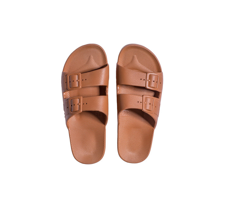 Freedom moses slippers toffee