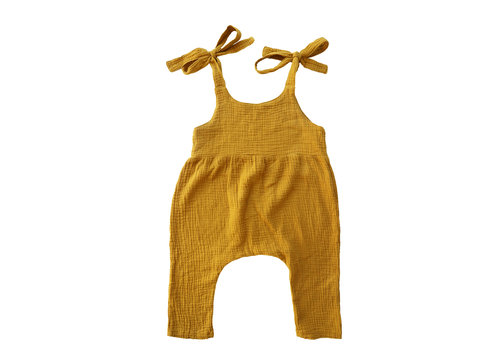 Daily Brat Daily Brat playsuit lucy golden yellow