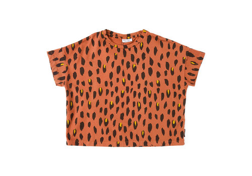 Daily Brat Daily Brat t-shirt leopard dusty pine