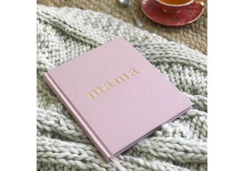 Write to me Write to me mama journal pink - tell me about it